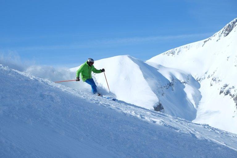 Ski au Col d'Ornon