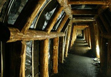 La Mine Image - MusÇe souterrain - Cp La Mine image.JPG