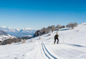 Ski nordique aux Signaraux