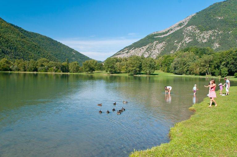 Plan d'eau de Valbonnais