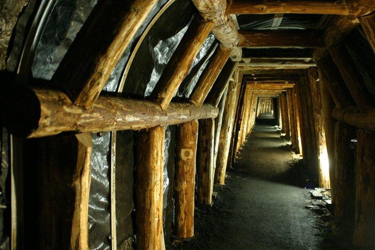 Galerie souterraine de la Mine Image