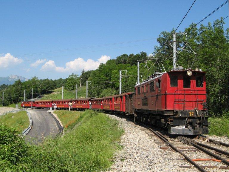 Le Petit Train de La Mure, chemin de fer de La Mure