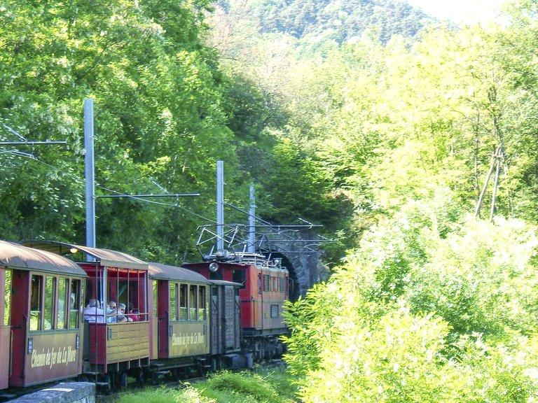Petit Train de La Mure, chemin de fer