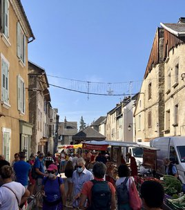 La Mure's market