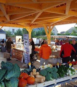 Farmers' market of Pierre Châtel
