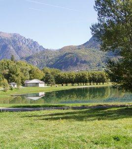Around the lake of Valbonnais