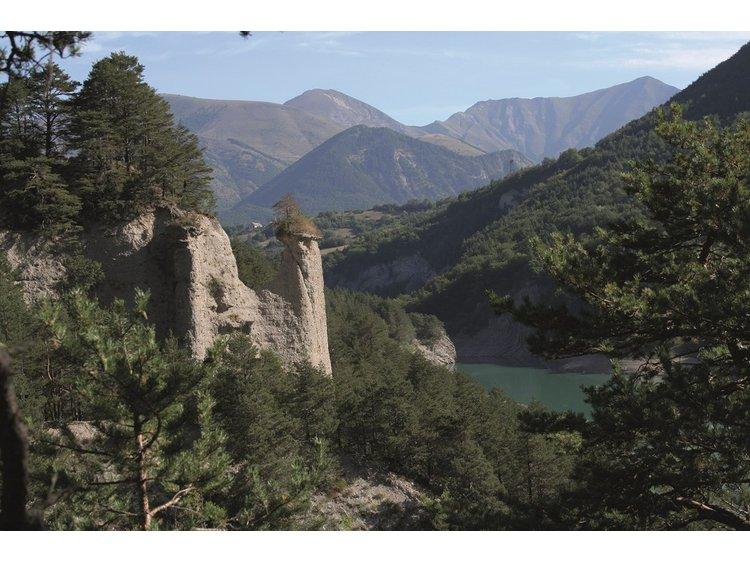 Photo 1 Randonnée les ruines géologiques du Vieux Pellafol