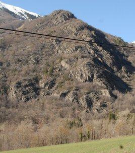Climbing spot of Les Pinets