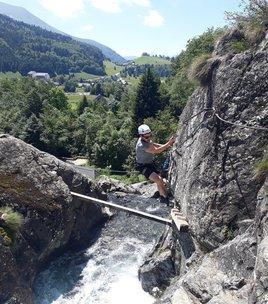 Waterfall Via Ferrata