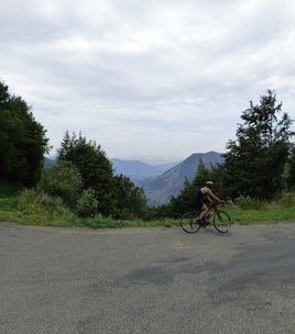Col Parquetout - mountain pass