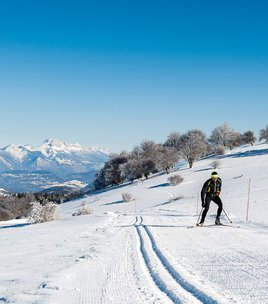 cross country skiing of Les Signaraux