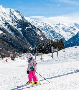 Alpine skiing area of Alpe du Grand Serre