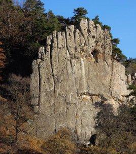 Climbing spot :  Le rocher de 11 heures