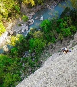 Climbing spot of Ponsonnas