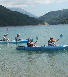 Escapade randonnée et canoë dans les gorges de la Souloise