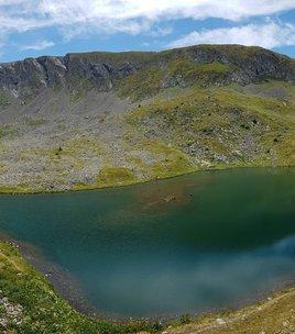 Brouffier lake by way Bonniot.