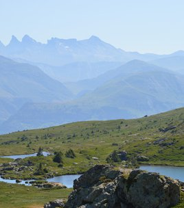 Fourchu Lake and the Lakes plateau