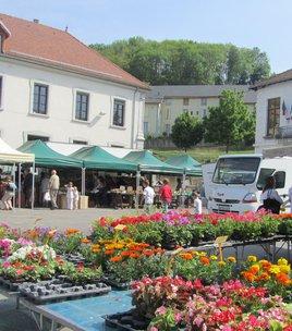 Markt in La Motte