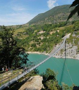 """Mountainbike tocht """" de Himalaya hangbruggen"""""""