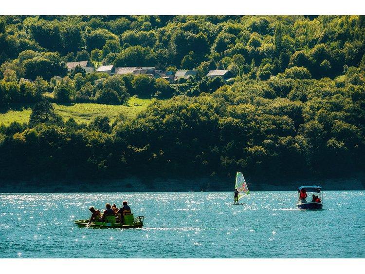 Photo 1 Base nautique du Lac du Sautet WSA