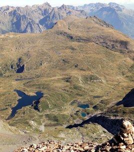 Plateau of lakes  -  lake Fourchu