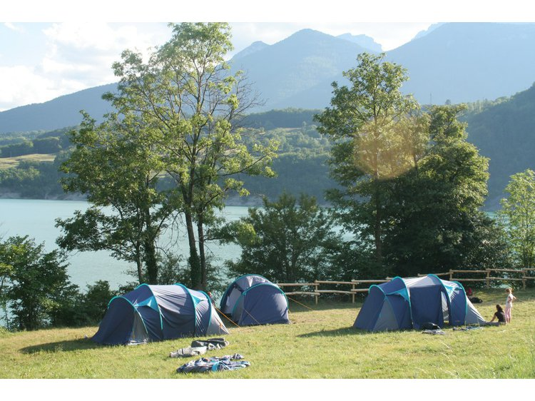 Photo 1 Camping du Lac du Sautet
